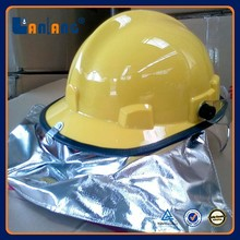 HIgh Quality Plastic Protection Fireman Fire Fighter Helmet