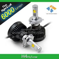 2010 Toyota prius car led headlights h4 5000k