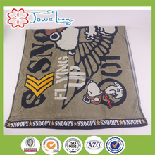 100% cotton active printed high quality beach towel