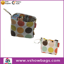 nylon foldable shopping bag factory promotion nylon foldable cheap shopping bag recycled