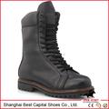 Homens sapatos de camurça com sola de borracha / exército botas militares sapatos / goodyear botas de segurança de couro