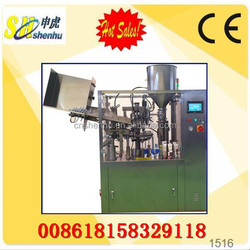 Automatic Cosmetic Tube Filling Machine For Aluminium Tube