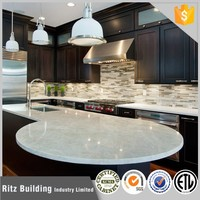 Beautiful display kitchen pictures for mudular kitchen cabinet