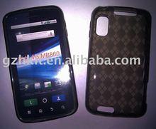 Atrix 4G MB860 TPU Skin Gel case Soft case Mobile phone case for Motorola