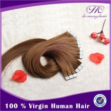 Perfect double tape hair extension 2012 high demand products stick tape hair extension
