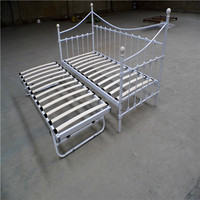 wrought iron day bed with trundle for UK