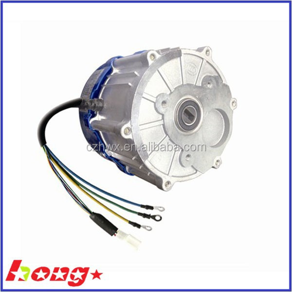 Electric Vehicle Motor With Shaft And Gear Box Used For