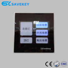 New design LED indicator EU standard CE/ISO9001/CQC glass touch panel switch