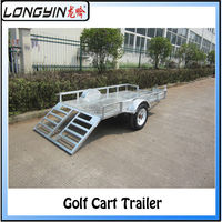 off road golf cart trailer and atv trailer