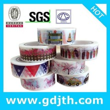 Stylish Cute Mixed Colors Hobby Decorative Crafting Scrap box packed paper adhesive masking tape