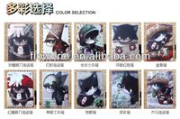 FL315 hot selling cat stand wallet leather case for ipad air