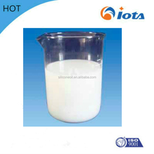 IOTA Methyl silicone oil emulsion does not dissolve in water