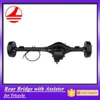 China factory export tricycle rear bridge 3 wheel bicycle parts