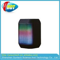 Support FM Radio Handsfree Function Portable LED Mini Speaker Bluetooth