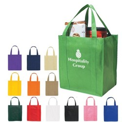 Factory price hot selling promotional cheap logo shopping bags