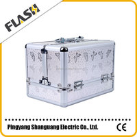 Best Selling Aluminum Makeup Case with Many Color Options