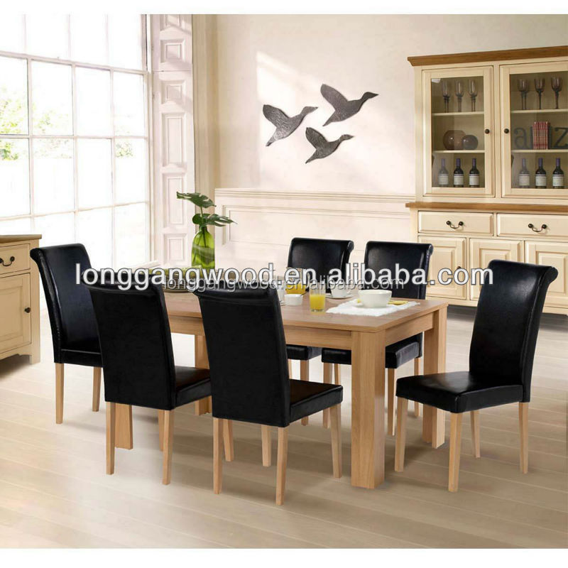 2015 new design wooden dining table and chair dining chair for Chair new design