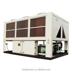 r134a liquid large capacity air cooled condenser chiller