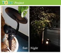 High Quality Garden spike Solar Light,led Solar Lights spike For Garden( JR-CP10)