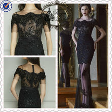 29631 Sexy See Thought Lace Elie Saab formal evening dress 2014
