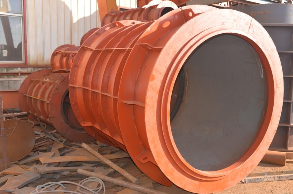 Concrete Hose Suppliers : Concrete pipe reinforcement mould for precast