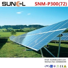 290 watt solar panel high efficiency for 200KW power system