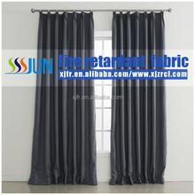 Fashion Permanent Flame Retardant Light Proof Curtain