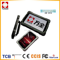 high quality long range uhf android rfid gprs/bluetooth reader tablet