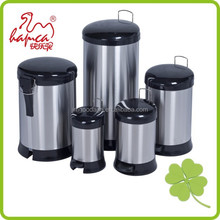 Standing Structure and PP,SS410# lady sanitary Stainless Steel waste bin china supplier