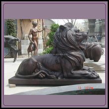 Bronze HSBC Lion Sculpture