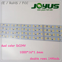 samsung led strip light 24v truck, strip led 5630 dual color 144leds