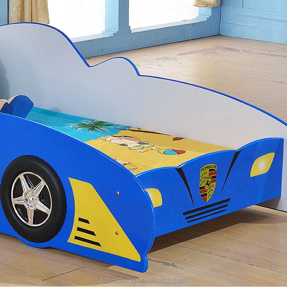 Fansheng fabriek prijs kinderen/kinderen f1 raceauto bed voor de ...