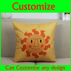 Customised print cotton baby sleeping pillow cover