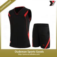 2015 Cheap wholesale youth balck basketball uniforms