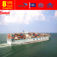 Sea freight shipping container from China to Panama to USA
