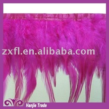 Fashion feather trim for dancing dress