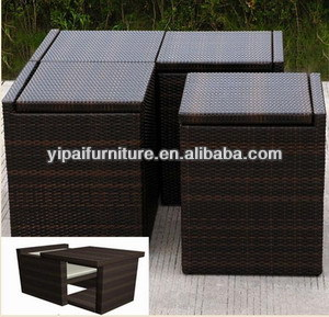 hand weave rattan outdoor space saving furniture space saving patio rh yipaifurniture en alibaba com space saving outdoor furniture ideas space saving outdoor furniture australia