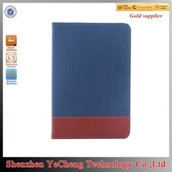 New arrival for ipad tablet universal case 10.1 with canvas