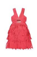 new style cut out bandage spaghetti oriental evening dress