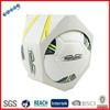 PU machine sewn football balls logo custom is best