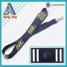 2*90cm China market YiWu pioneer smooth fabric cheap minions toy lanyard