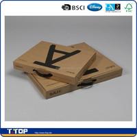 FSC Dongguan Factory Custom Made Cardboard Briefcase