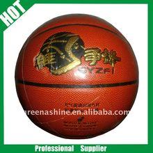 high quality PU lamunation basketball