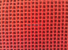 Manufacturer of colorful fire retardant PVC Coated Polyester covering Mesh Tarp