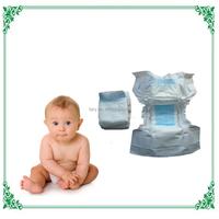 Wholesale Disposable Baby Diapers Low Price from Turkish Manufactory