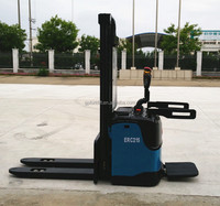 1500kg electric pallet stacker truck electric power steering on hot sale in sep