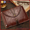 manufacture cattle hide tablet cover for ipad air 2 leather case