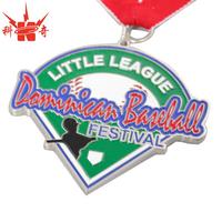High quality custom metal grand enameled Baseball medal