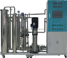 Dialysis machine supporting pure water system for hospital laboratory/ro water system