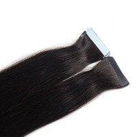 wholesale 18inch straight color hair tape in hair extension,indian hair,human hair extension